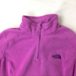 [The North Face] Pullover Fleece, Pink/purple
